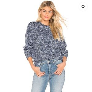 Tularosa Willoughby Pullover In Tonal Blue